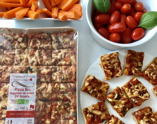 24 toasts Pizza Bio, le top pour l'apéro !