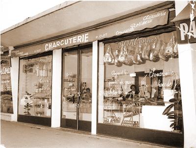 1957 La Charcuterie Pierre Clot