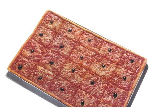1970 Plaque Pizza Fromage Pierre Clot
